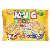 NISSIN Cup Noodles Mug Noodles Seafood & Consommé soy sauce 4 meals Japan