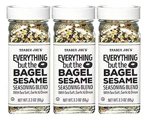 Value 3 Pack: Trader Joe's Everything but The Bagel Sesame Seasoning Blend