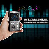 Lossless Digital MP3 Audio Player - HiFi Hi-Res Portable Music Player, High Resolution with USB Flash, 128GB MAX Micro SD Card Reader, 3.5mm Headphone Jack, Supports Multiple Audio Formats - Pyle