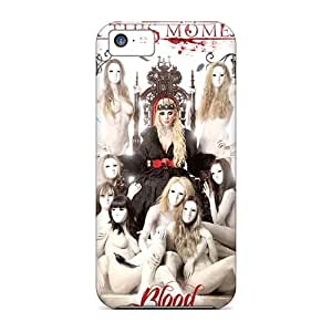 Protective Hard Phone Covers For Apple Iphone 5c (MLW22125hfWo) Custom Lifelike Maria Brink Band Series