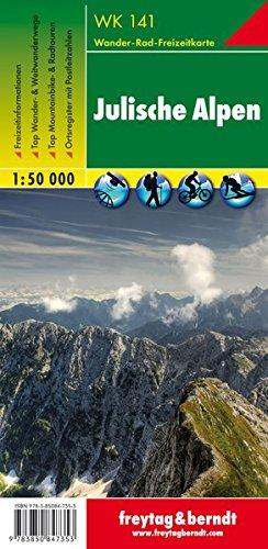 Julische Alpen: 1:50K Hiking Map FB WK141 (Slovenia) (Wanderkarte) (English, Italian and German...