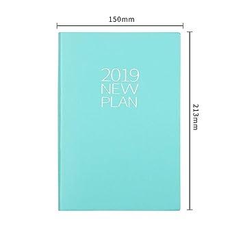 YWHY Cuaderno Agenda 2019 Agenda Bloc De Notas ...