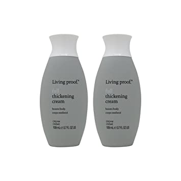 Amazon.com : Bundle-2 Items : Living Proof Full Thickening Cream, 3.7 Oz (Pack of 2) : Beauty