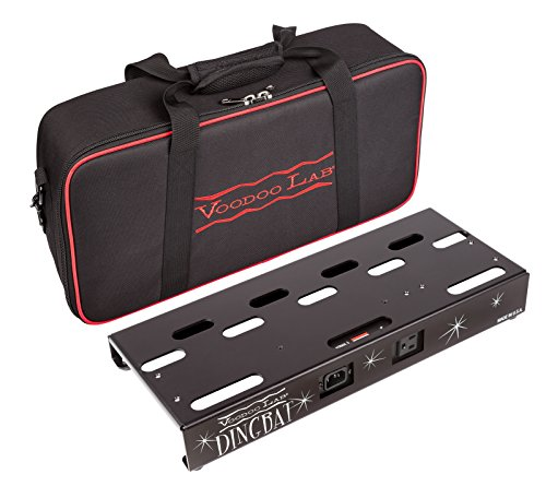 Voodoo Lab Dingbat Small Pedalboard with Pedal Power 2 PLUS Power Supply & Bag by Voodoo Lab