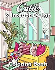 Cities & Interior Design Coloring Book For Adults: City & Interior Design Coloring Book Amazing Places Real and Imagined, Fun Relaxation & Stress Relieving !!