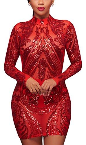 Sparkle Sequin Mesh Gown - 7