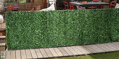 Synturfmats Artificial Hedge Slats Panel for Chain Link F...