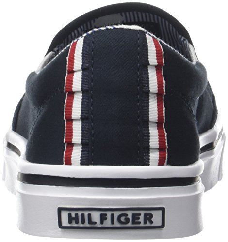 403 Bleu Light Tommy Textile On Slip Weight midnight Femme Basses Sneakers Hilfiger zBRgBnqxP