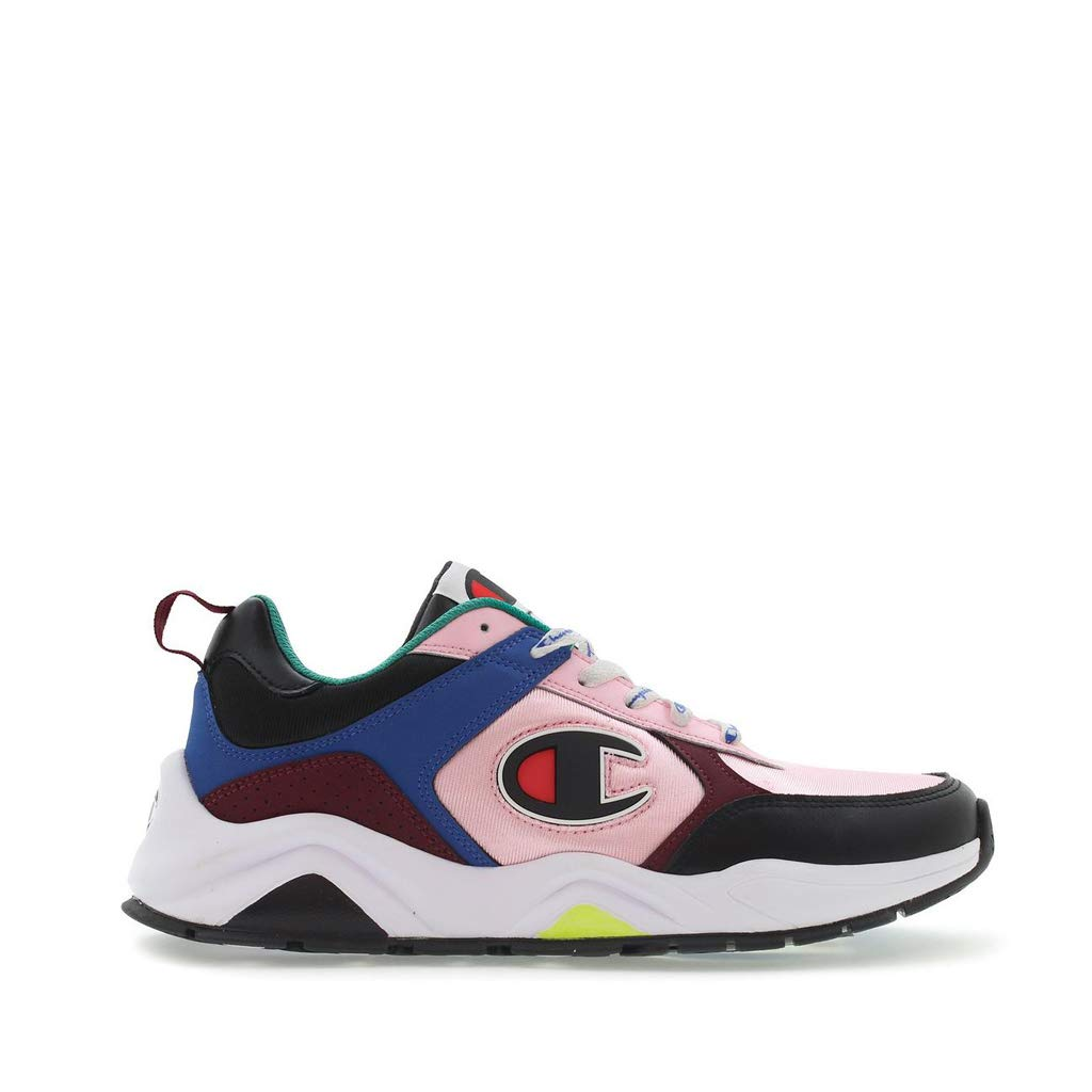 Champion 93 Eighteen Casual Shoes (K4.5 - W6.5, Pink Multi)