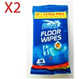 48 Jumbo Floor Wipes 2 packs of 24