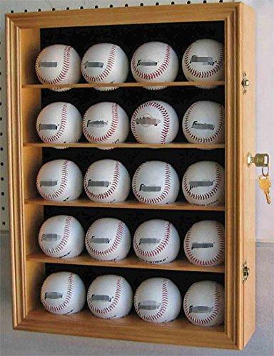 Oak Basketball Display Case - 7