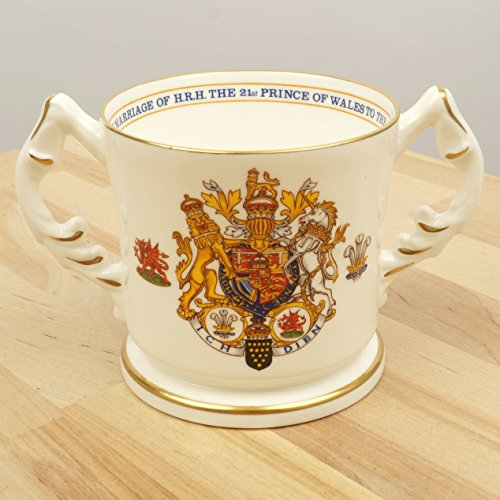 Bone China mug || To commemorate the Marriage of H.R.H. the Prince of Wales to the Lady Diana Spencer || Aynsley || Made in (Vintage Aynsley Bone China)