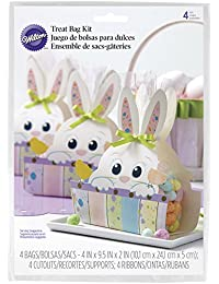 Purchase 1912-9733 Wilton Easter Bunny Chic Treat Bags, 4-Count discount