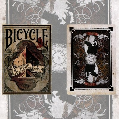 Mister Hyde Deck Bicycle Playing Cards USPCC CARDSBICHYDE