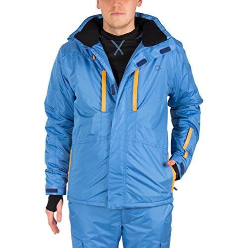 chollos oferta descuentos barato Gregster Hombre Chaqueta de Esquí Snowboard Chaqueta de Nieve