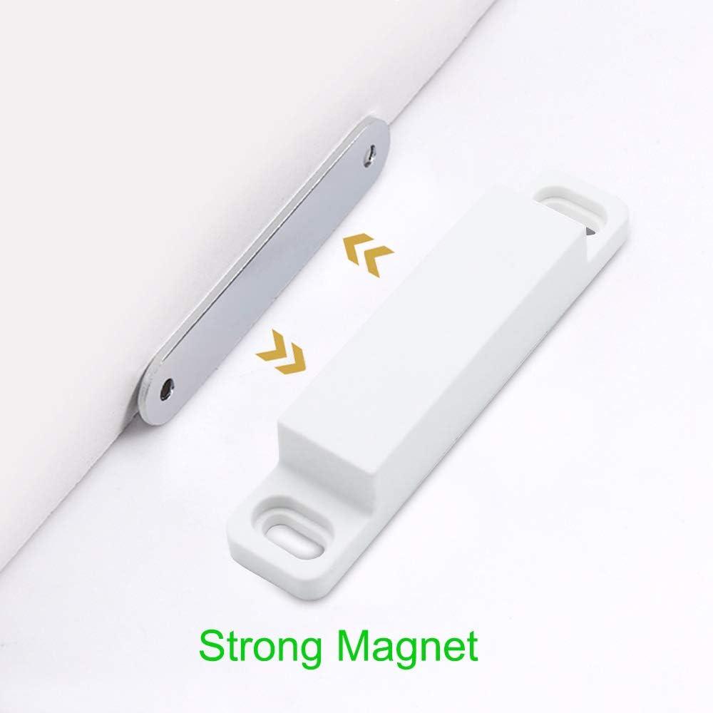 para muebles armarios SPTwj Juego de 6 cierres magn/éticos para puertas de armario puertas o armarios 8 kg resistentes