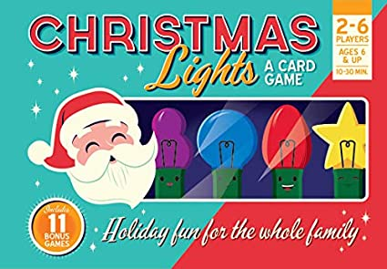Image Unavailable - Amazon.com: Christmas Lights: A Card Game: Toys & Games