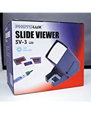 PHOTOLUX SV-3 LED Daylight Desktop Slide Viewer 3x Vergroting voor 35mm Slides