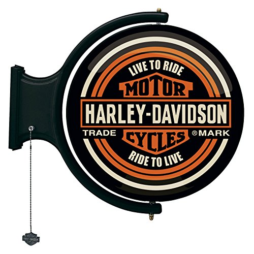 Harley-Davidson Bar & Shield Rotating Wall Bar Light ()