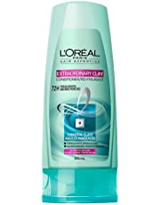 L'Oreal Paris Hair Expertise Extraordinary Clay Conditioner For Oily Roots , Dry Ends, 385 mL