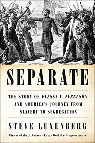 Image result for Steve Luxenberg | Separate: The Story of Plessy v. Ferguson, and America's Journey from Slavery to Segregation