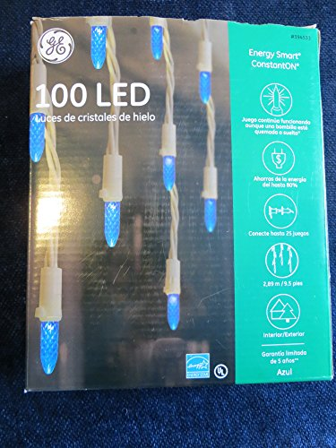 Ge 100 Count White Led Christmas Lights - 5