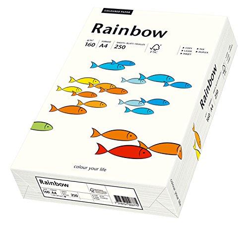 Papyrus Multifunktionspapier Rainbow, DIN A4, 160 g qm, naturweiß, 250 250 250 Blatt, 5er Packung B07522SJ7B | Genialität  e4f096