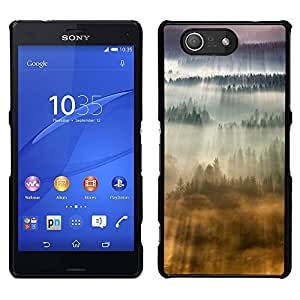 LECELL--Funda protectora / Cubierta / Piel For Sony Xperia Z3 Compact -- Awe Inspiring Nubes Flying Sun --