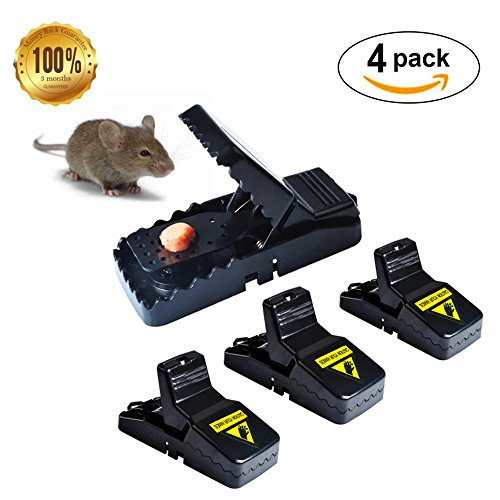 e Traps, Premium Rat Traps That Work Humane Power Rodent,Reusable Mouse Catcher, Quick Effective Sanitary,New Upgrad by (Victor Mouse Glue)