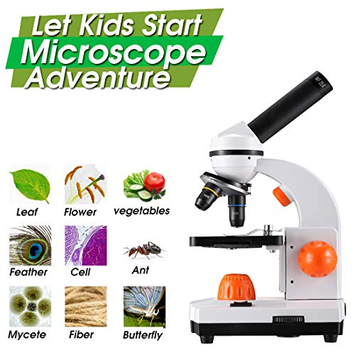 Dicfeos The Ultimate Microscope With Accessories for Kids