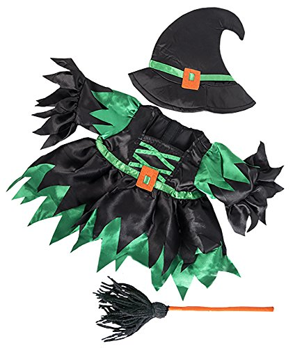 Wicked Witch Costume Teddy Bear Clothes Outfit Fits Most 14