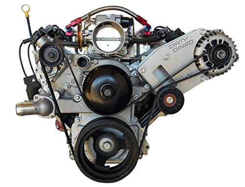 (Dirty Dingo Billet Alternator Bracket for GM LS1 98-02 Camaro/Firebird Engines)