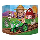 Beistle Farm Photo Property, 3-Feet 10-Inch by 25-Inch, Multicolor