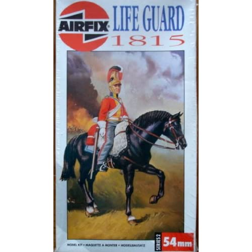 Amazon.com: Airfix 54MM Lifeguard 1815 Figure Kit