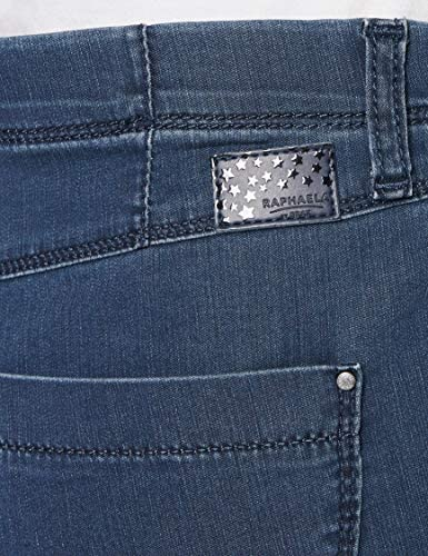 Raphaela by Brax 14-6207 Jean Skinny, Bleu (Stoned 25), 48 (Taille Fabricant: 46) Femme