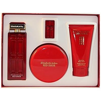 Red Door Eau-de-toilette, Body Lotion, Bath And Shower Gel and Mini Parfum Splash Women by Elizabeth Arden