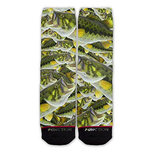 Function - Bass Fish Realistic Fashion Socks ()