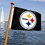 Cheap WinCraft Pittsburgh Steelers Boat and Golf Cart Flag