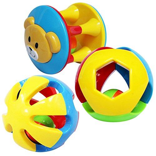 Dehang-Set-de-3Juguetes-para-Arrastrar-de-Pelotas-Bolas-Sonajero-con-sonidos-para-Bebs-recin-nacidos-Nios-nias
