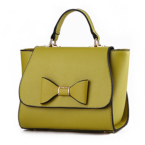 Wewod bolsos bandolera para mujer/bolso de hombro mujer baratos/carteras de mano/bolso shopper de Casual 23 x 19 x 12 cm (L*H*W) Verde