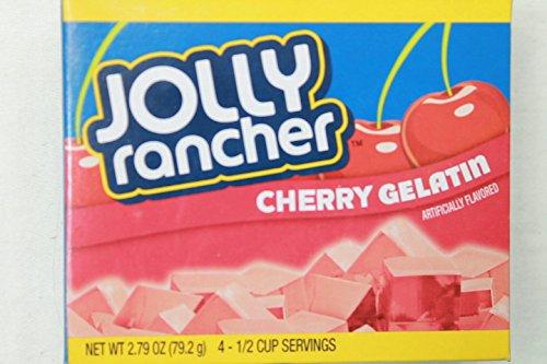 Jolly Rancher Gelatin 2.79oz Box (Pack of 12) (Cherry) ()