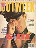 img - for OUTWEEK, The Lesbian and Gay News Magazine, No. 89, iMarch 13, 1991, includes Harvey Fierstein interview on Frank Rich, Kathleen Turner, and network TV book / textbook / text book