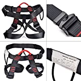 Weanas Thicken Climbing Harness, Protect Waist