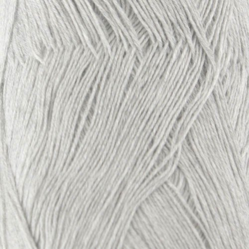Lace Weight Rayon from Bamboo Fiber Yarn - Silver Grey - 2 Skeins - 50g/skein - BambooMN Brand