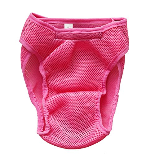 Ondoing Washable Female Dog Physiological Period Underwear Diapers Pet Wrap Band Nursing Durable Puppy Trousers (Fancy Dress Magic Ltd)