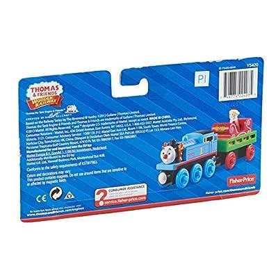 Fisher-Price Thomas & Friends Wooden Railway, Santa's Little Engine: Toys & Games