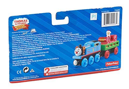 Fisher-Price Thomas the Train Wooden Railway Santa's Little Engine