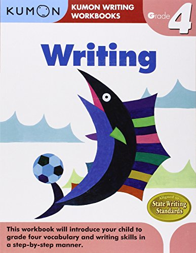 Grade 4 Writing (Kumon Writing Workbooks) Writing Workbook