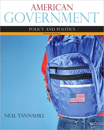 American Government Kindle Edition By Neal Tannahill