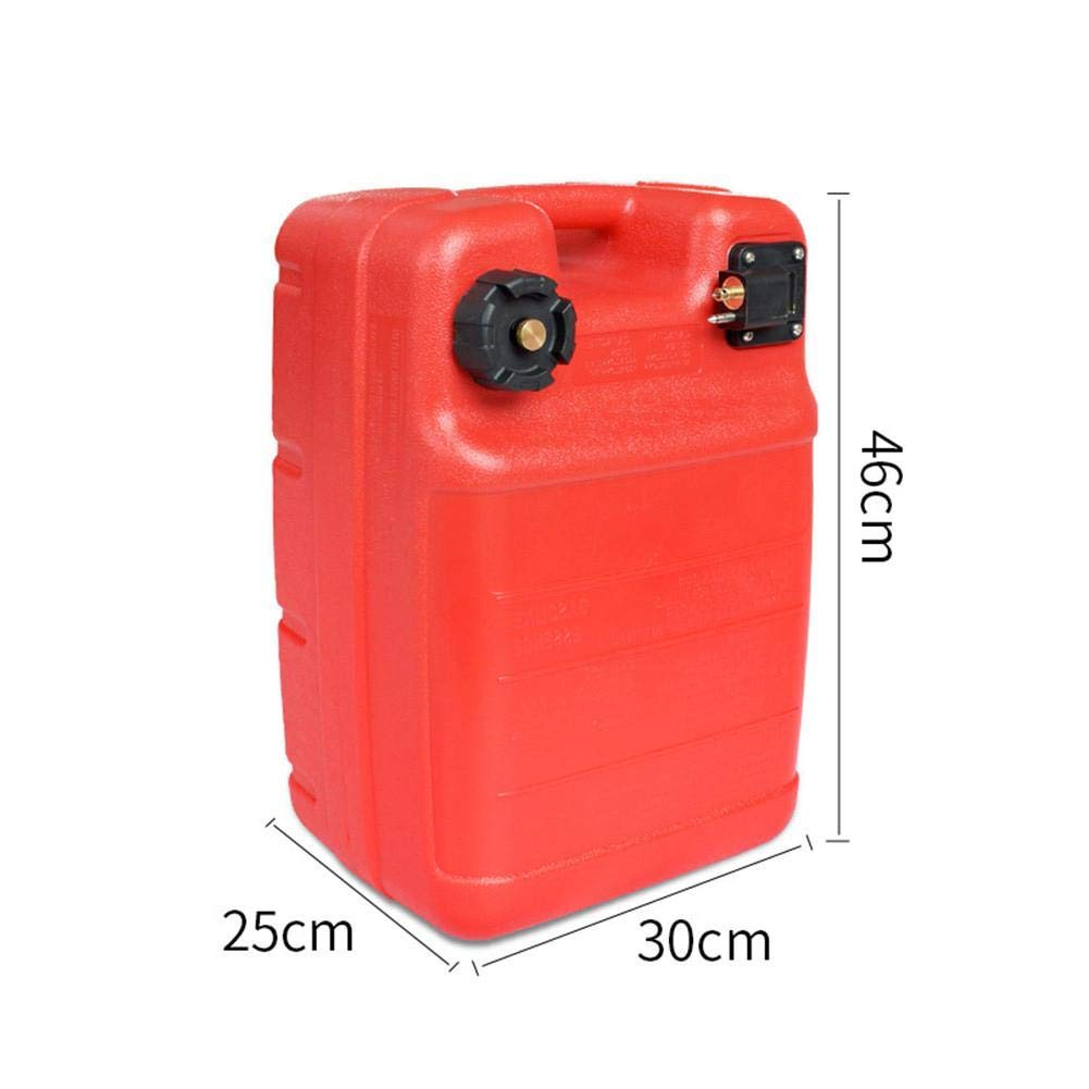 evergremmi 12L//24L Portable Fuel Tanks Anti-static Outboard Engine Fuel Tank Gas Tank Compatible for Boat Sea Yum Yamaha Hangkai Outboard Parts